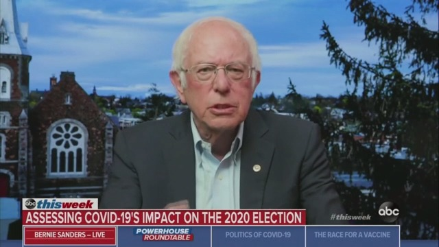 Sanders Predicts 'A Vast Majority' of His Supporters Will Vote for Biden