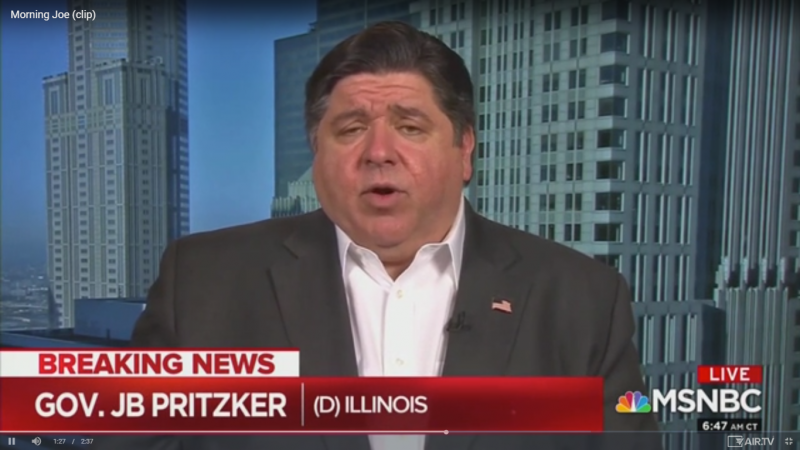 Illinois Governor JB Pritzker: I Don't Know Any Governor Who's Going to Call in Federal Troops