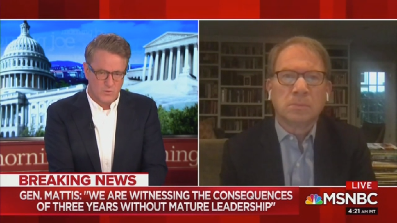 Joe Scarborough on Trump's Threats of Military Force: 'History Will Judge the Complicit'