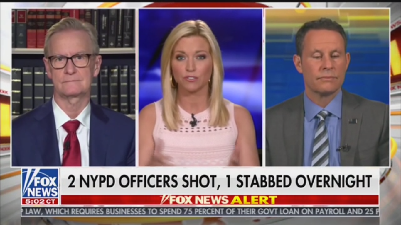 Fox's Brian Kilmeade Calls for Huge Increase in Police Numbers, Expresses Concern for 'Lucrative Neighborhoods'