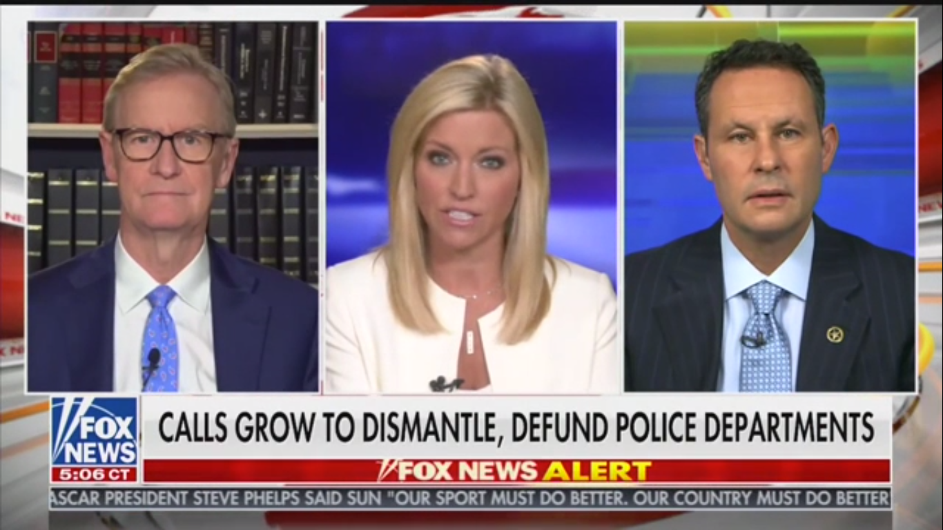 Fox's Brian Kilmeade: Defunding the Police Is 'Insane', 'Craziest Conversation' in Decades