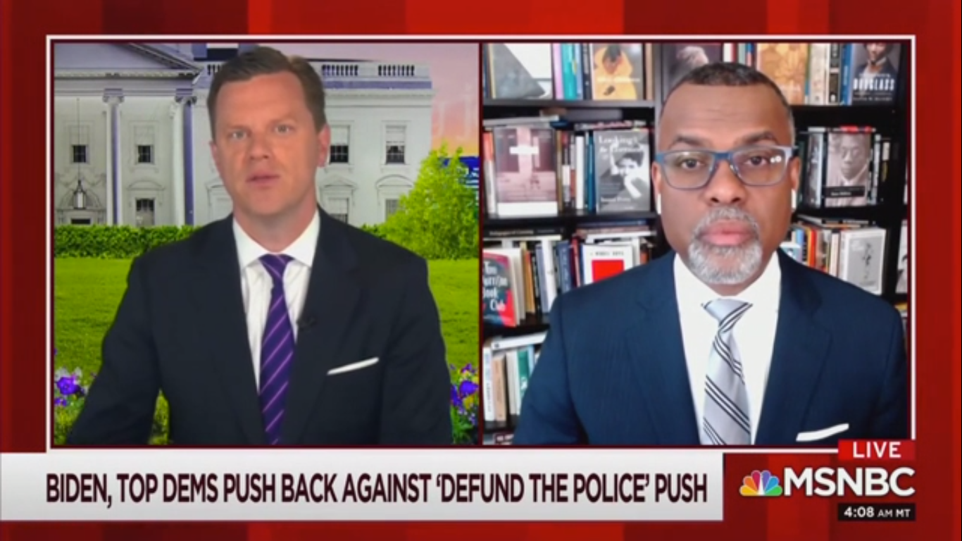 Eddie Glaude Jr: Defunding Police Is a 'Justice Reinvestment Movement'