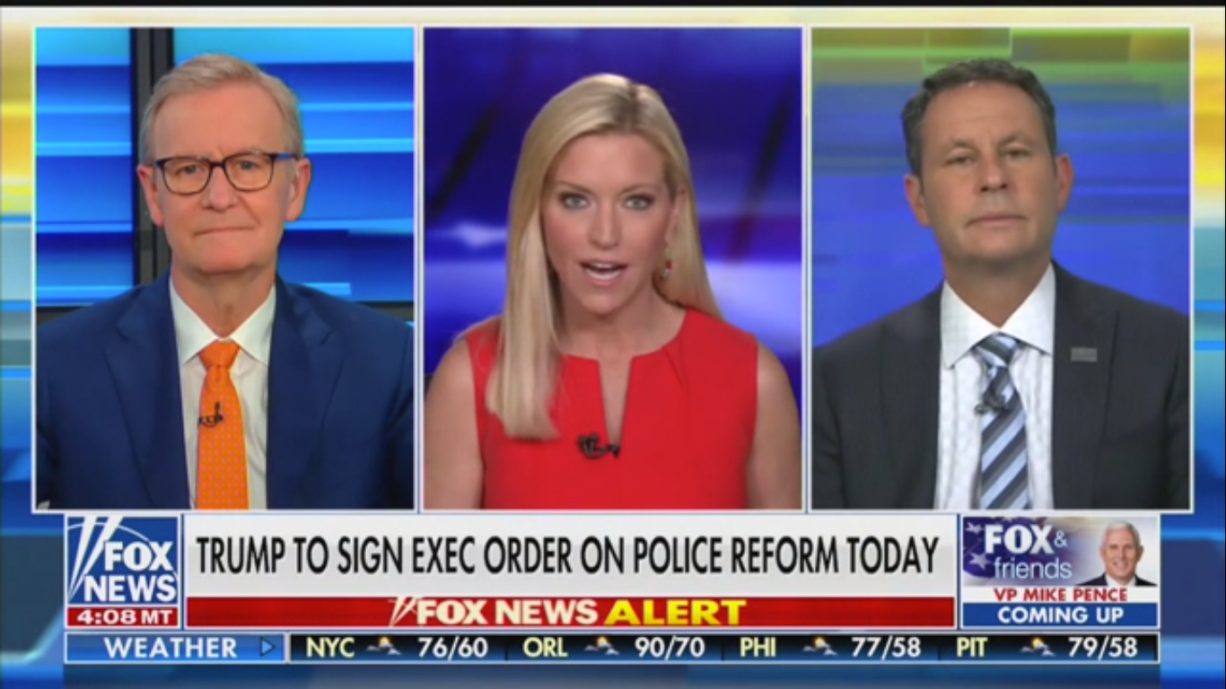 Fox's Brian Kilmeade: Seattle Protesters 'Essentially Want to Secede from the United States'