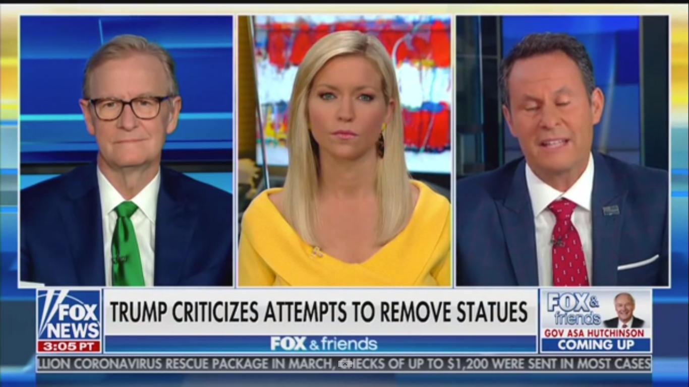 Fox's Brian Kilmeade: 'What If Your Town Votes to Take Down George Washington?'