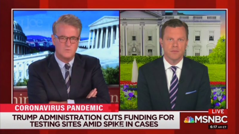 'Morning Joe' Slams 'Colossal Stupidity' of Republicans as Coronavirus is 'Exploding'