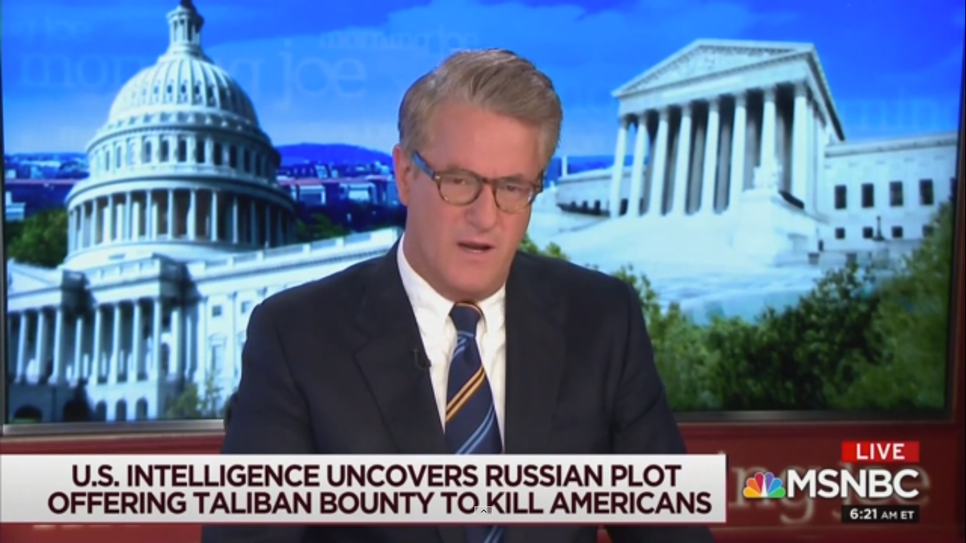 Joe Scarborough Shames Republican Senators: 'Speak Out for Our Troops Today'
