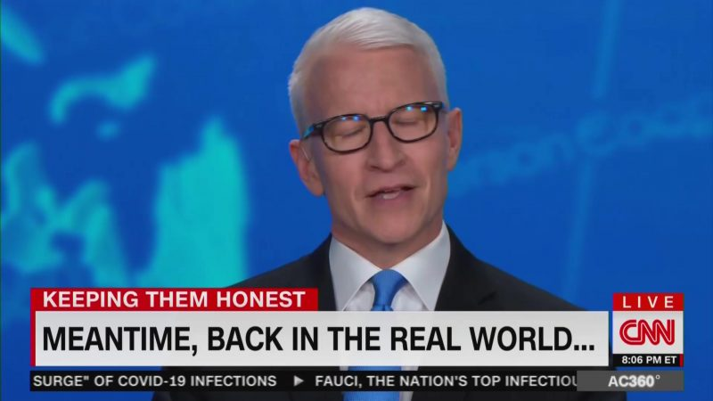 Anderson Cooper Tears Into Trump Over Coronavirus Hypocrisy: He's 'Living in a Biological Bunker'