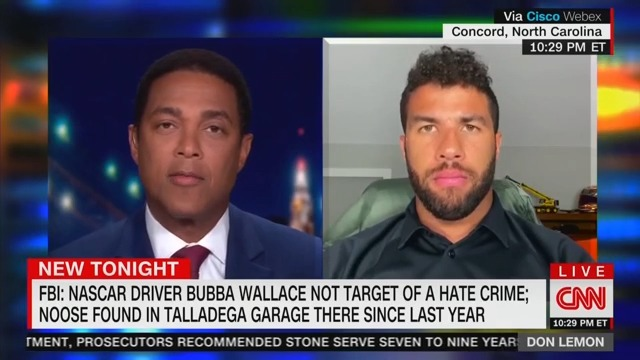 Bubba Wallace Reacts to Those Who Believe He Faked Hate Crime: 'I'm Pissed!'
