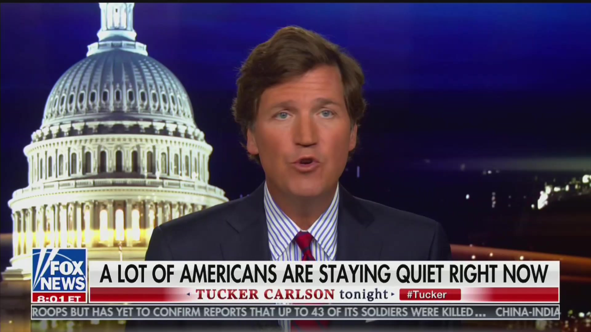 Tucker Carlson Reassures Viewers They're 'Not Crazy' For Watching His Show