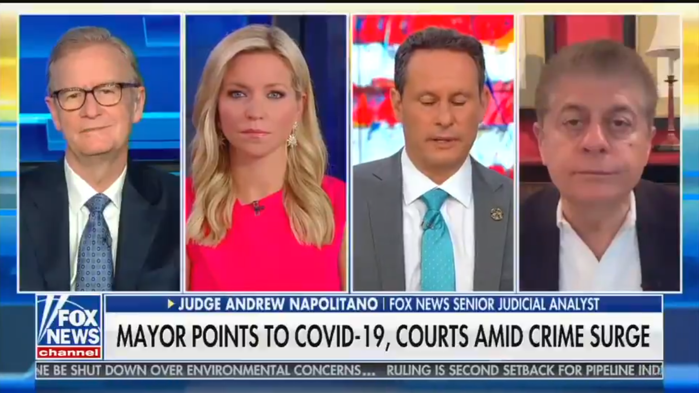 Fox's Steve Doocy: 'There Should Not Be Politics in Policing'