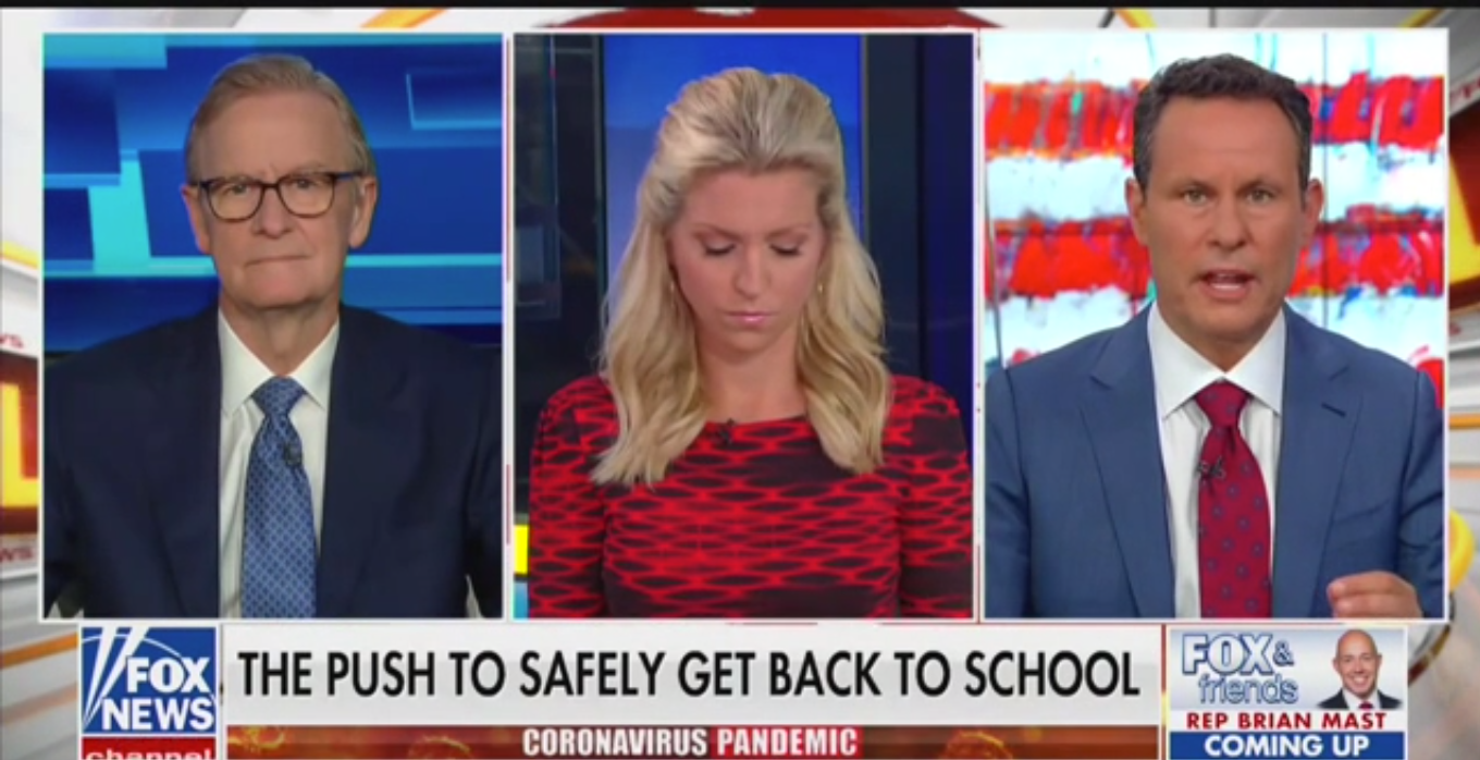 Fox's Brian Kilmeade: Schools Should Reopen Because Kids Need to Learn 'Life is Full of Risk'