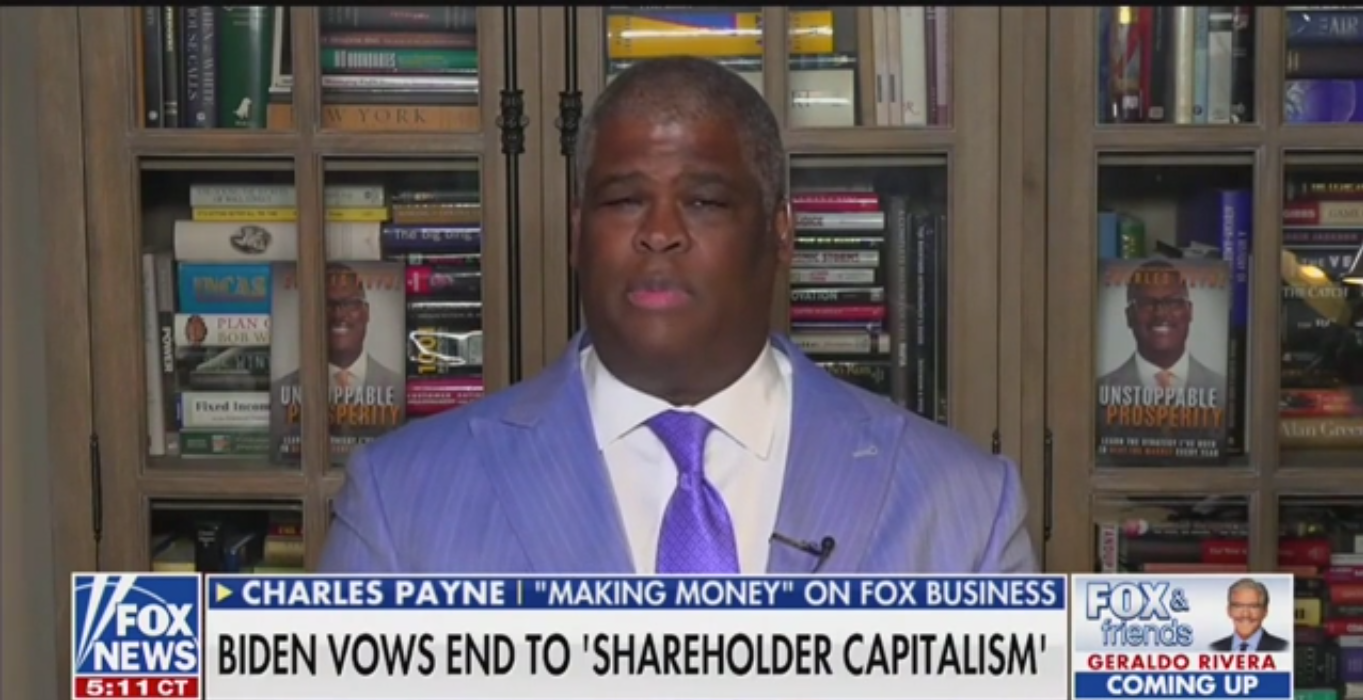 Fox's Charles Payne: Democrats Are 'Hijacking the Pain and Suffering of Black People'