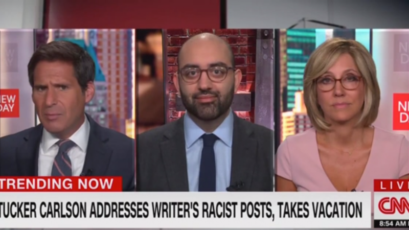Watch: CNN Hosts Tear Into Tucker Carlson's 'Sham' Apology for Racist 'Vile Content'