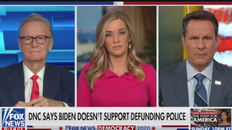 Fox's Brian Kilmeade on Biden: 'His Silence Is Compliance with the Anarchists'