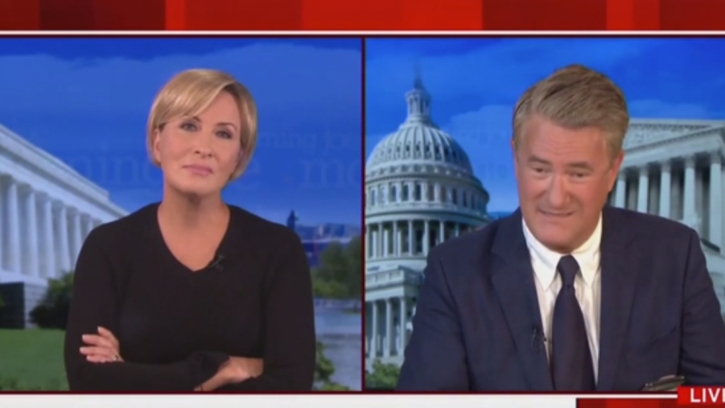 Watch: Joe Scarborough Is Astonished Trump Is Bragging About Passing an Alzheimer's Test