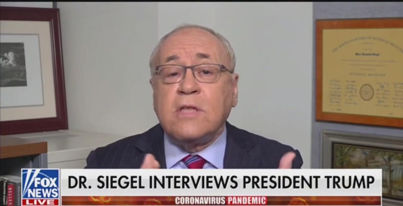 Watch: Fox News' Dr. Marc Siegel Praises 'Extremely Sharp' Trump After Interview