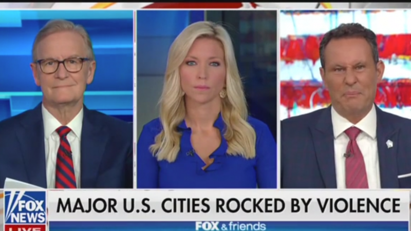 Watch: Fox News' Brian Kilmeade Mocks 'Peaceful Riots'