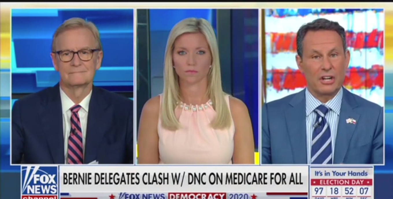 Fox's Brian Kilmeade: A President Shouldn't 'Bring the Country Way to the Left or Way to the Right'
