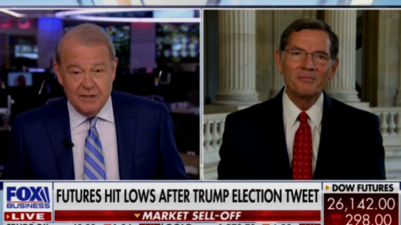 Fox Business' Stuart Varney Seems to Seriously Consider Delaying the Election