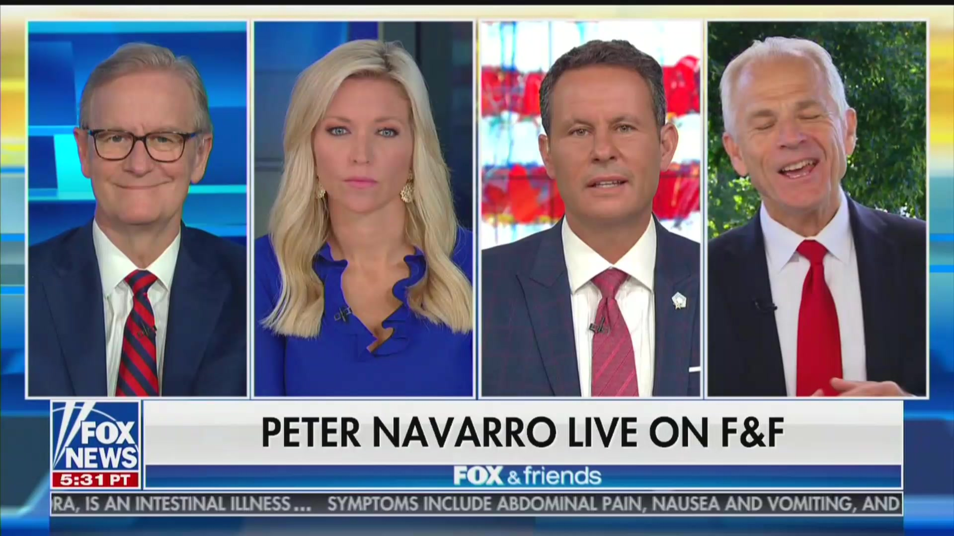 Peter Navarro Doesn't Regret Anti-Fauci Op-Ed, Mocks Doctor Over Botched First Pitch