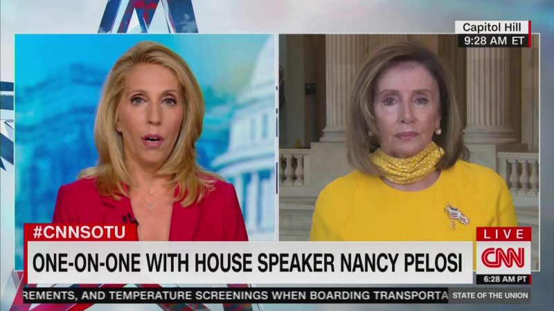 Pelosi Criticizes DeVos' 'Dereliction of Duty' for Pressing for Schools to be Reopened