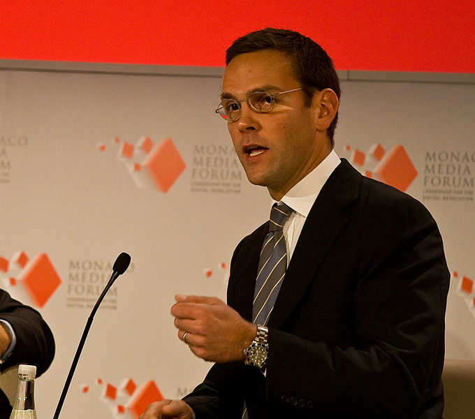 James Murdoch Resigns from News Corp Due to 'Disagreements Over Certain Editorial Content'