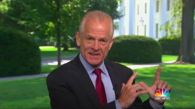 Peter Navarro Claims 'the Lord' Created Executive Orders to Cut Through Partisanship