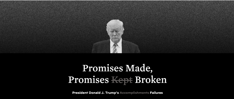 Biden Campaign Uses 'Keep America Great' Website Against Trump