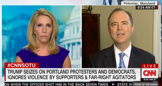 Schiff: Trump 'Doesn't Care' About Loss of Life, 'Believes the Violence Helps Him'