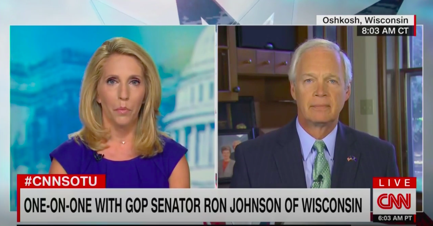 Ron Johnson Refuses to Condemn Alleged Kenosha, Wisconsin Shootings By Trump Supporter