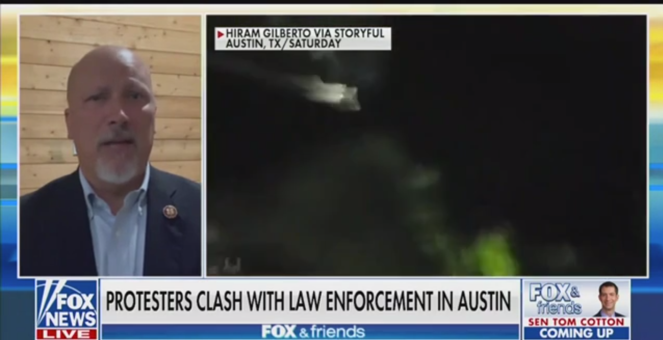 Republican Rep. Chip Roy Blames 'Predominantly White Marxists' for Unrest in Texas