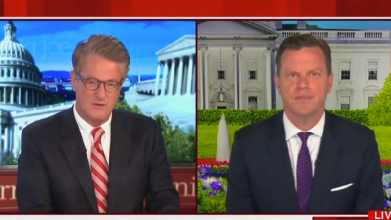 MSNBC's Willie Geist: Public Isn't Buying Trump Campaign's Idea that Biden Is a 'Radical Leftist'