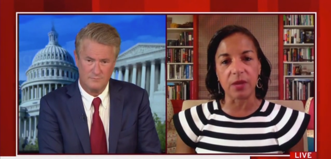 Susan Rice Warns the Trump Campaign Could Collude with Russia Again in 2020