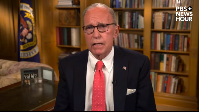 Larry Kudlow's RNC Speech Pushes Coronavirus Into the Past Tense: 'It Was Awful'