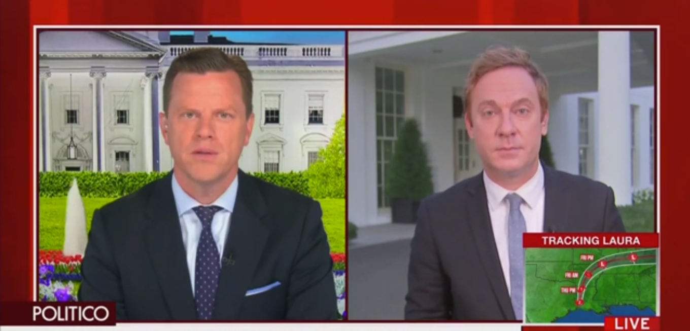 MSNBC'S Willie Geist Slams Mark Meadows' 'Garbage Argument' That Nobody Cares About Hatch Act Violations