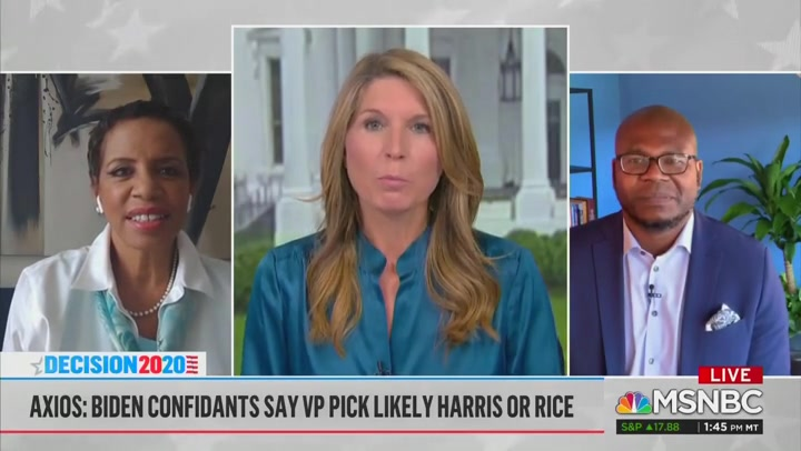 Nicole Wallace: Trump Campaign Fears Kamala Harris Would 'Chew Up and Spit Out' Mike Pence