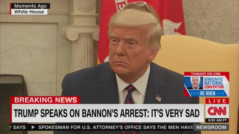 'I Have No Idea,' Trump Says When Asked If Having So Many Convicted Felons on His Side Reflects Well on Him
