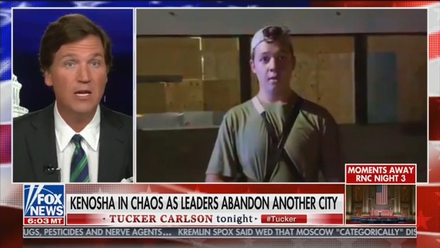 Tucker Carlson Defends Kenosha Vigilante: He Did What 'No One Else Would'