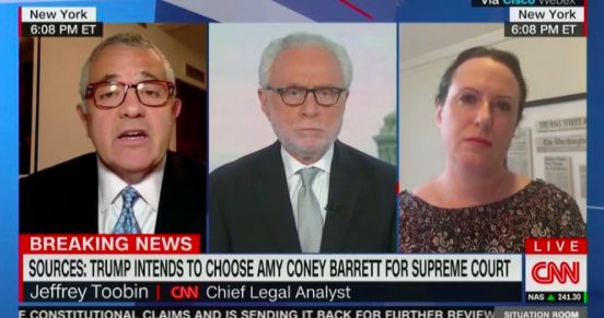 Toobin: Amy Coney Barrett Is So Conservative that John Roberts 'Becomes Almost Irrelevant'