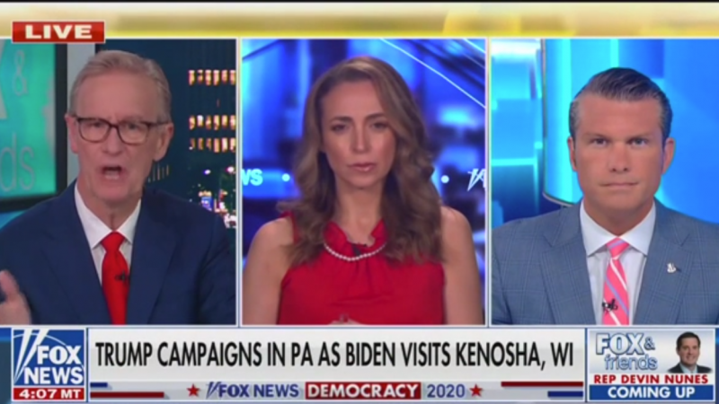Fox's Pete Hegseth Criticizes Biden for Meeting Jacob Blake's 'Very Controversial Father'