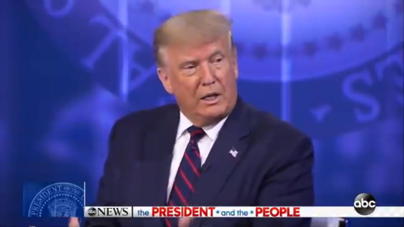 Trump: Coronavirus Will Go Away with 'A Herd Mentality'
