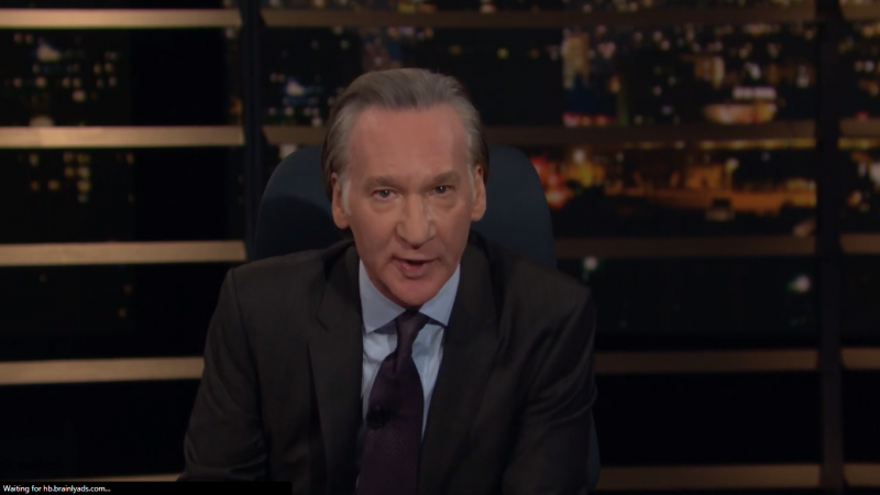 Bill Maher Rages Against 'Hillary Equivocators' in Warning About 2020 Election