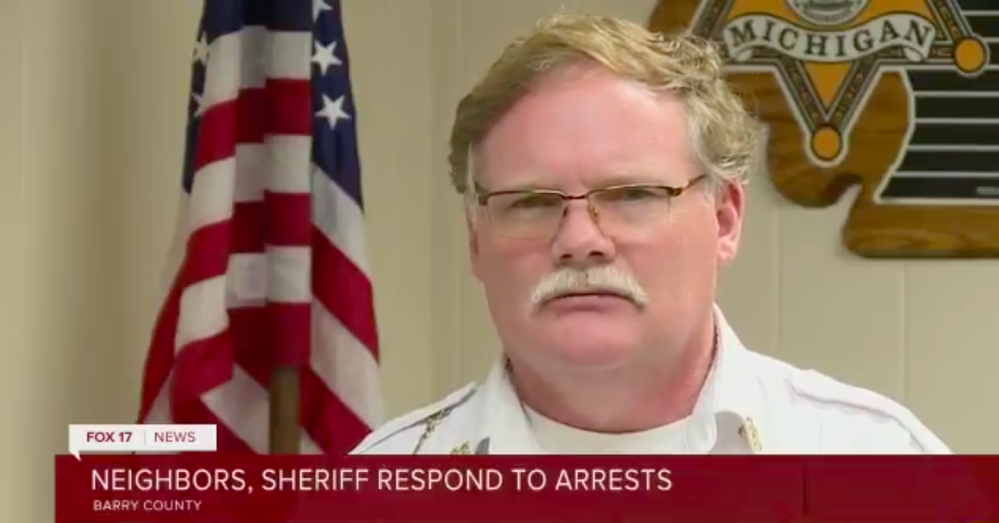 Michigan Sheriff Downplays Alleged Whitmer Kidnapping Plotters: Maybe They Were Just 'Trying to Arrest' Her