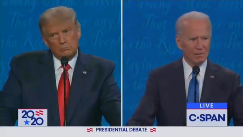 Biden Mockingly Calls Trump Abraham Lincoln and Accuses Him of Racism