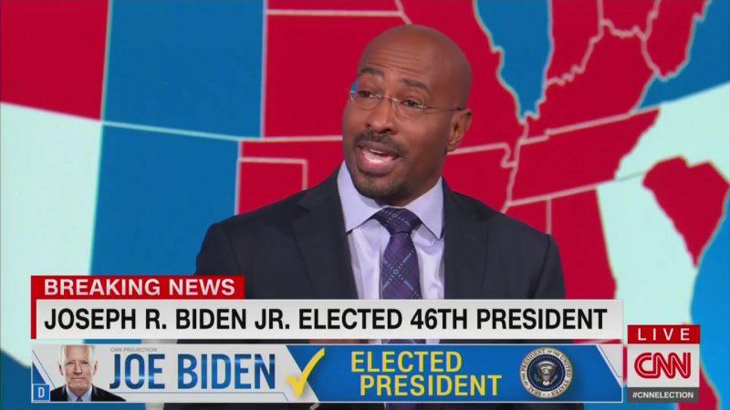 CNN's Van Jones After Biden Declared President-Elect: 'It's Easier to Be a Dad'