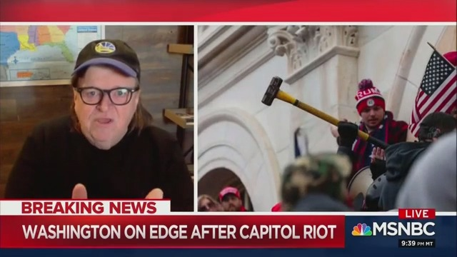Deadly Capitol Hill Riots Were an 'Inside Job,' Michael Moore Says