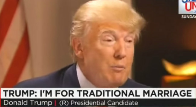 "CNN's Jake Tapper To Donald Trump: ""What's Traditional About Being Married Three Times?"""