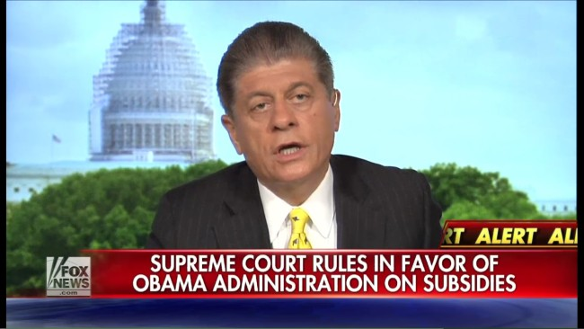 The Collective Butthurt From Fox News Over SCOTUS ACA Ruling Is A Wonder To Behold