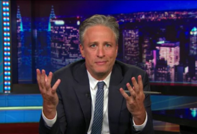 Twitter Reacts Approvingly To Jon Stewart's Moving Monologue On Charleston Shooting