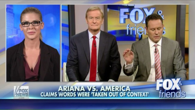 "Thanks, Obama! 'Fox & Friends' Guest Blames President For Ariana Grande's ""I Hate America"" Comment"